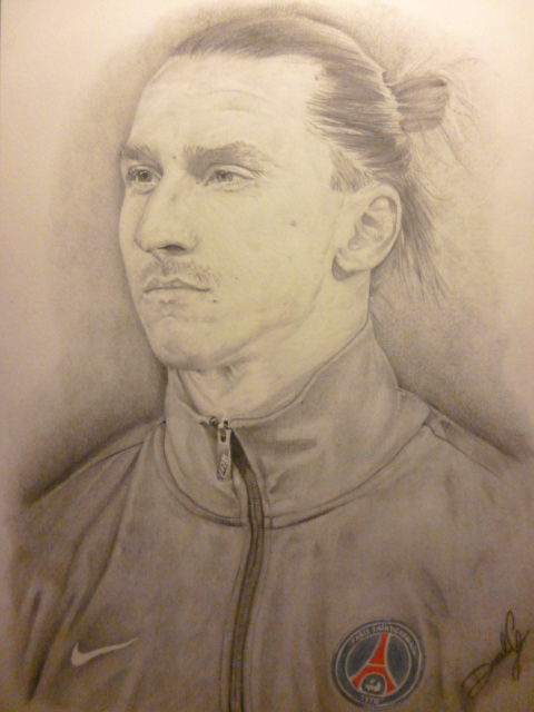 Zlatan Ibrahimovic by DGK